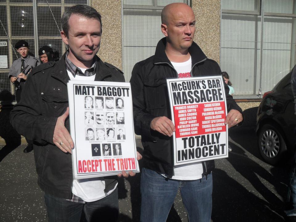 Níall Ó Murchú (left) and Ciarán MacAirt