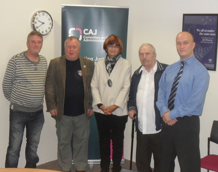 McGurk's Bar campaigners meet with Amnesty International in June 2012