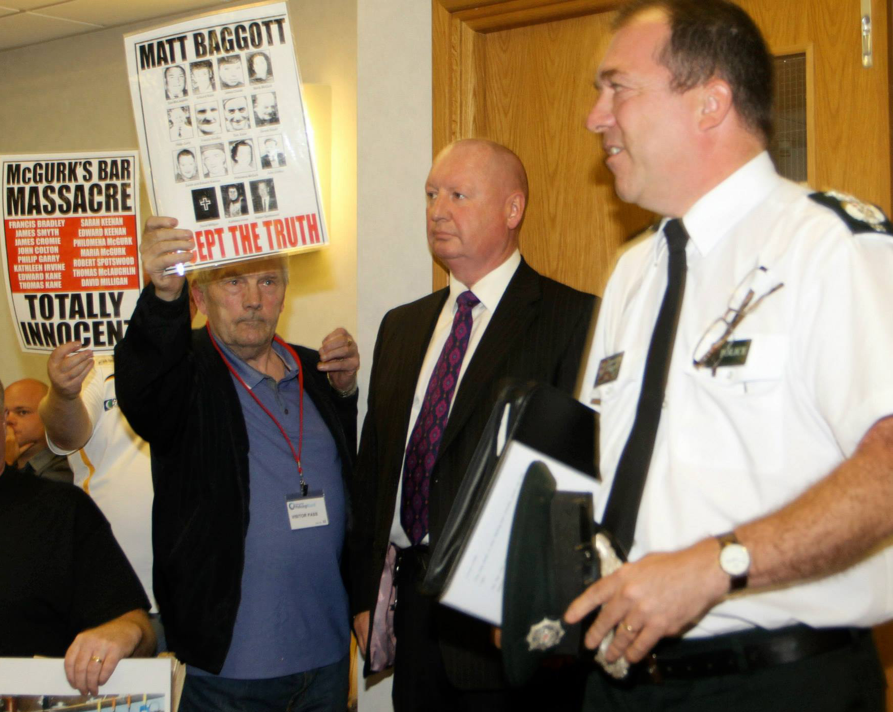 Chief Constable Matt Baggott oversaw the irrational HET report