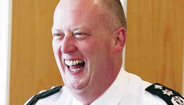 Judicial Review: Laughing Chief Constable George Hamilton